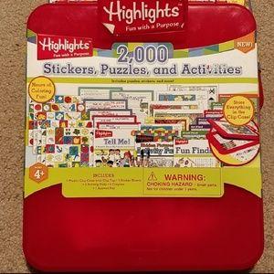 Highlights Activity Case